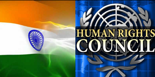 India Elected To UN Human Rights Council with highest number of votes