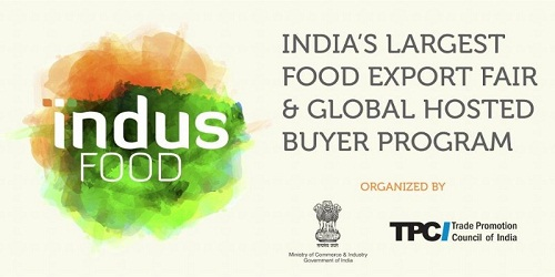 Indus Food-II to be held in January, 2019, in Greater Noida