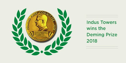 Indus Towers, the 29th Indian recipient of Deming Prize