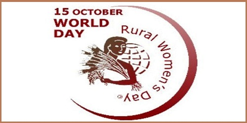 International Day of Rural Women - 15 October