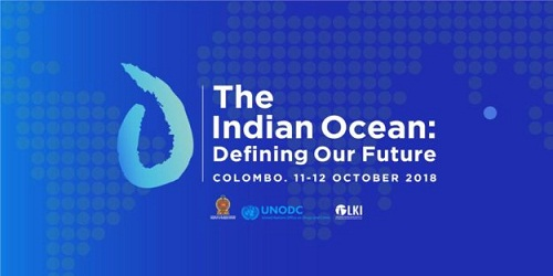 International conference on the future of the Indian Ocean held in Colombo on (11-12th Oct)