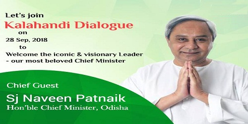 Odisha Chief Minister Naveen Patnaik launched the three-day 'Kalahandi Dialogue'