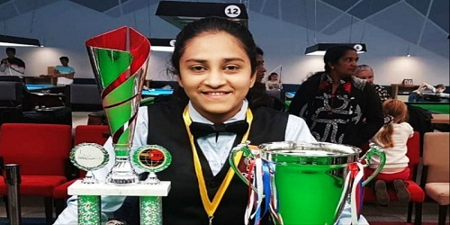 India's Keerthana Pandian wins girls' title in IBSF World U-16 Snooker Championships