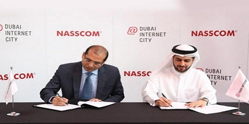 NASSCOM signs MoU with Dubai Internet City (DIC) to expand Indian SMEs in MENA region