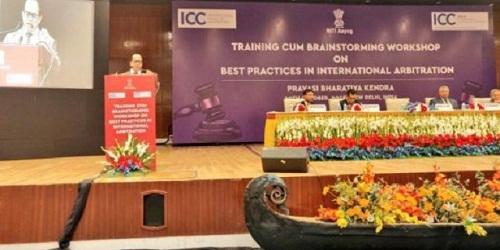 NITI Aayog & ICC(ICA) held Workshop on Best Practices in International Arbitration