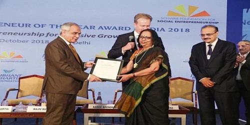 Prema Gopalan wins Social Entrepreneur of the Year award 2018