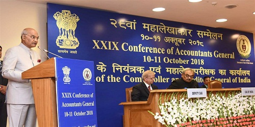 President of India Inaugurates 29th Accountants General Conference