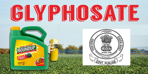 Punjab banned use of glyphosate herbicide