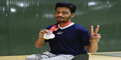 Sanjeev Kumar wins two gold medals at Denmark Open