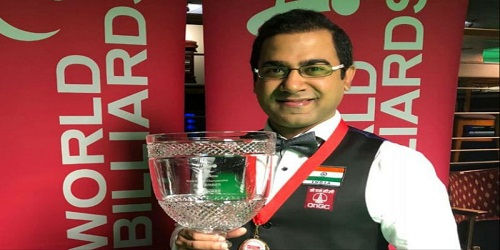 Sourav Kothari wins 2018 WBL World Billiards Championship title