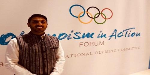 Suheil F. Tandon wins International Olympic committee (IOC) award