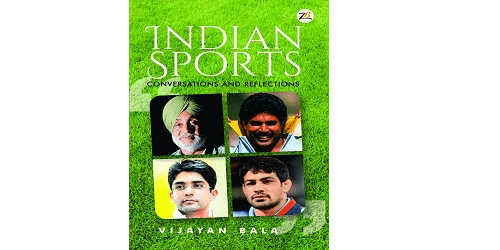 Vijayan Bala launched 'Indian Sports: Conversations and Reflections'