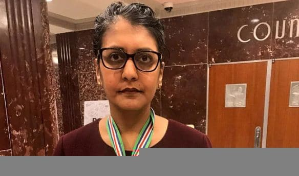 Minal Patel Davis honoured with Presidential Medal for Combating Human Trafficking