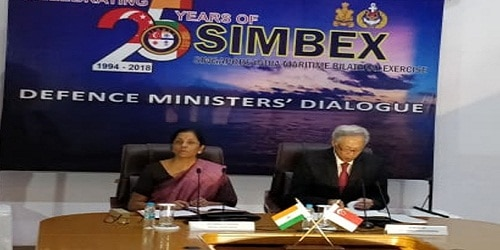 3rd India-Singapore Defence Ministers' Dialogue