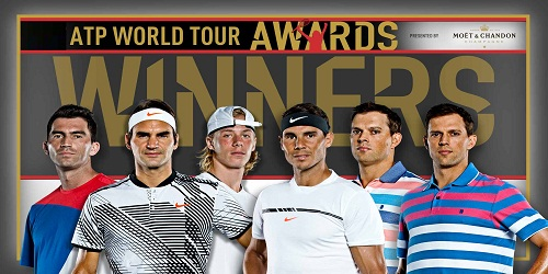 ATP World Tour Awards 2018 announced