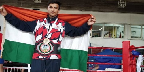 Aabid Hamid wins gold for India at World Kick Boxing Championship in Argentina