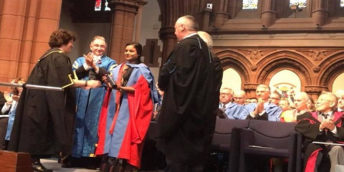 Arunima Sinha, world's first Indian woman amputee to scale Everest gets honourary doctorate in UK