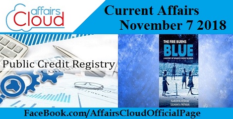 Current Affairs November 7 2018