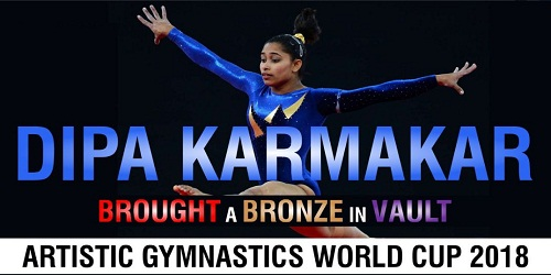 Dipa Karmakar grabs bronze in vault event at Artistic Gymnastics World Cup held in Cottbus, Germany