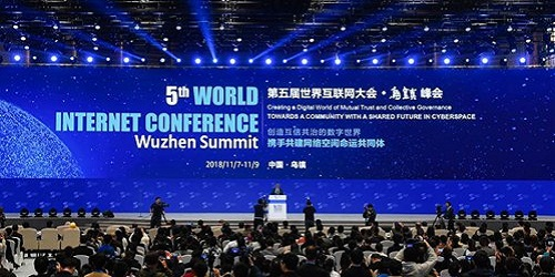 Fifth World Internet Conference (WIC) held in China