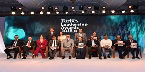 Forbes India Leadership Awards 2018 awarded to business heads in Mumbai