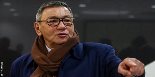 Gafur Rakhimov elected as AIBA president