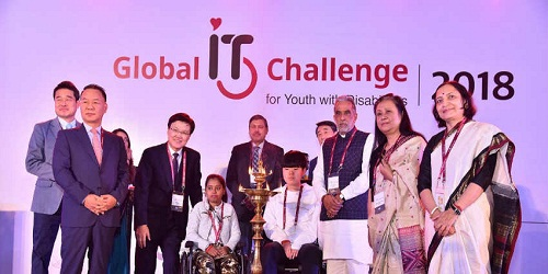 Global IT Challenge for Youth with Disabilities, 2018 commenced in New Delhi