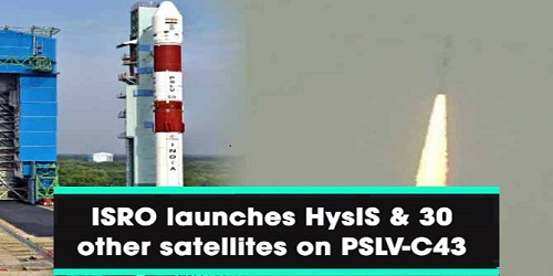 ISRO launches India's first hyperspectral imaging satellite along with 30 foreign satellites