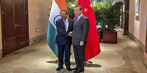 India-China Special Representatives border talks held in Dujiangyan, China