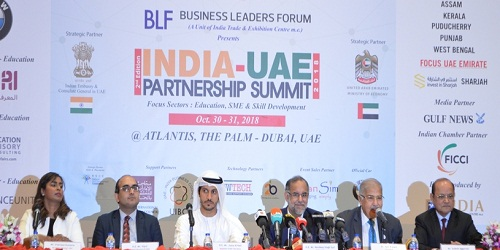India-UAE Partnership Summit (IUPS) 2018 held in Dubai