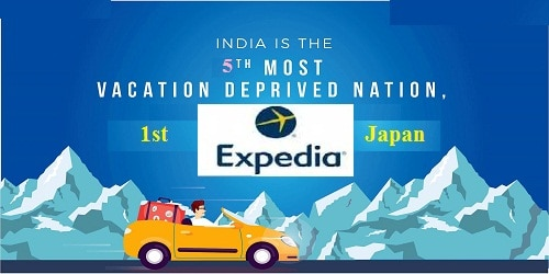India ranked 5th in the list of most vacation deprived nation in the world Expedia