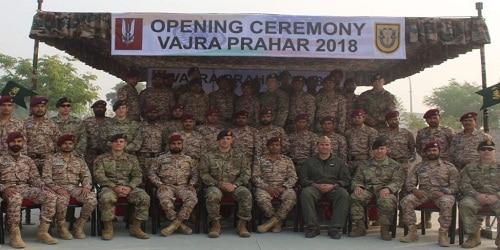 Indo-US joint military exercise 'Vajra Prahar' begin in Jaipur