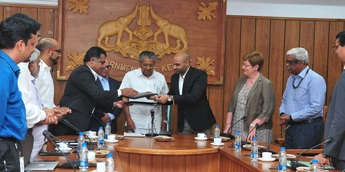 Kerala government signs MoU with Airbus BizLab