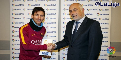 Lionel Messi wins 6th La Liga Player of the Year award