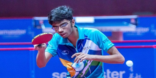 Manav Thakkar settles for bronze in Belarus Open