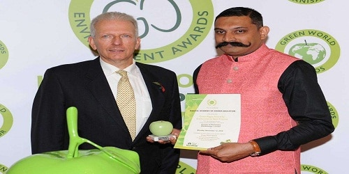 Manipal Academy of Higher Education won silver in the International Green Apple Award
