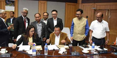 Manipur Government signs MoU for smart city project