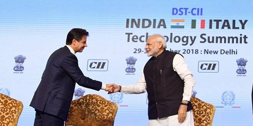 Prime Minister of Italy Mr. Giuseppe Conte's 1-day visit to India