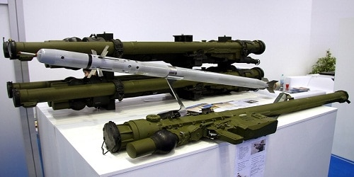 Russian Igla-S missile