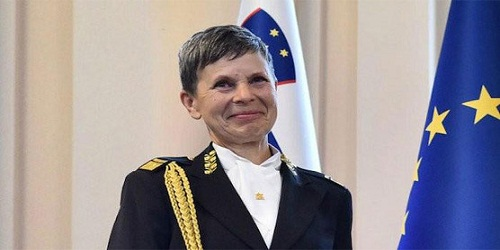 Slovenia becomes only NATO country with female Army Chief