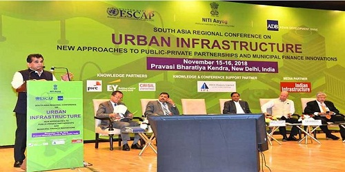 South Asian Regional Conference on Urban Infrastructure held in New Delhi