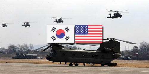South Korea & US resume military drills