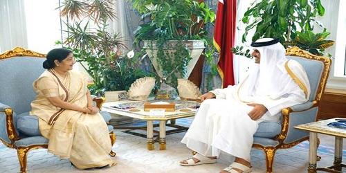 Sushma Swaraj's 4-day visit to Qatar, Kuwait