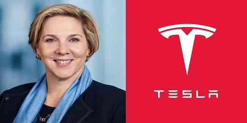 Tesla named board director to replace Musk