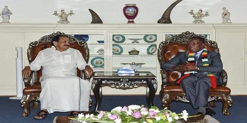 Vice President Visit Zimbabwe