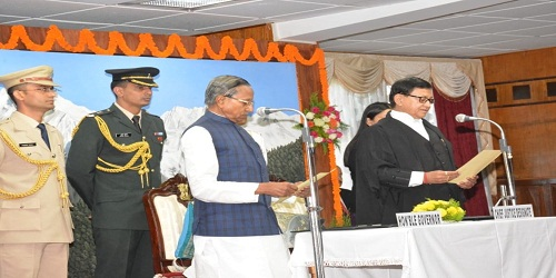 Vijay Kumar Bist sworn in as Sikkim High Court chief justice