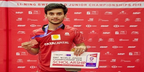 LI NING BWF WORLD JUNIOR CHAMPIONSHIP 2018: Lakshya Sen (Indian) won bronze in men's single event