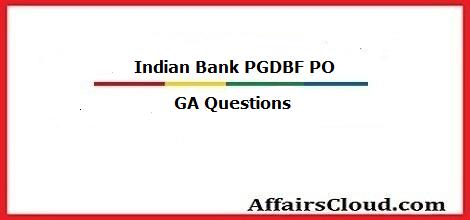ind-bank-pgdbf-po-ga-questions