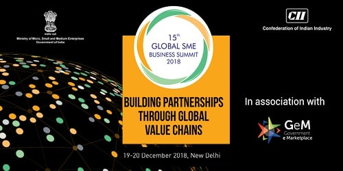 15th Global SME Business Summit in New Delhi