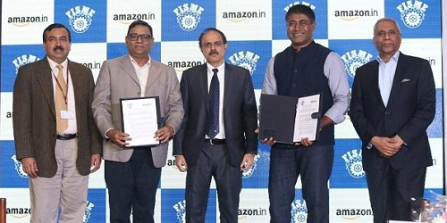Amazon India signed MoU with FISME